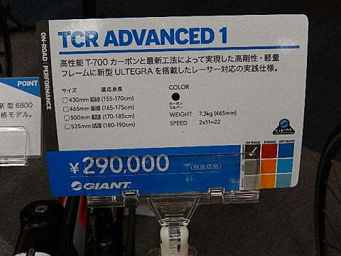 TCR ADVANCED 1