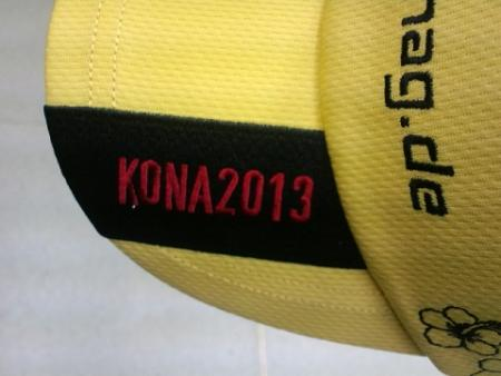 KONA2013ロゴ入りキャップ
